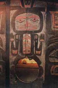 Northwest Coast, Bear Mother doorway