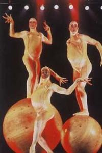 Circe du Soliel, Androgyne Clowns