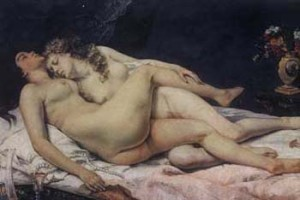 Gustave Courbet, Sleep, 1886