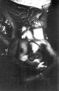 Eikoh Hosoe, Portrait of Yukio Mishima, photograph, 1961