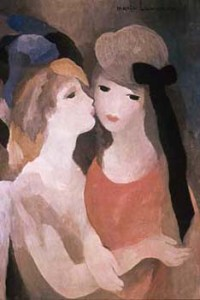 Marie Laurencin, The-Kiss, 1927