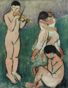 Henri Matisse, The Music, 1907, sketch