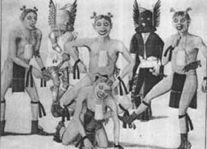 Pueblo Clowns, Otis Poleloma
