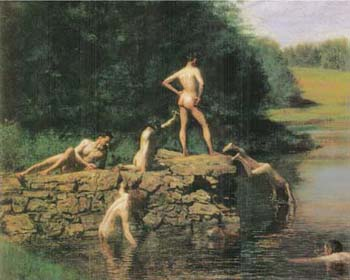 Thomas-Eakins-Swimming-1885