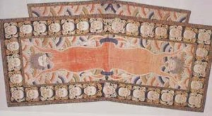 Tibet , 18th C, Lhamo's saddle undercloth