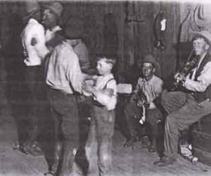 Men and boys dancing, Library of Congress photograph collection LO 5423 58P